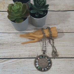 Vintage Mexican Sterling Necklace